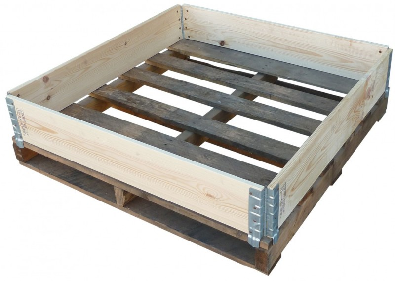 Tonne Pallet Collar Crate