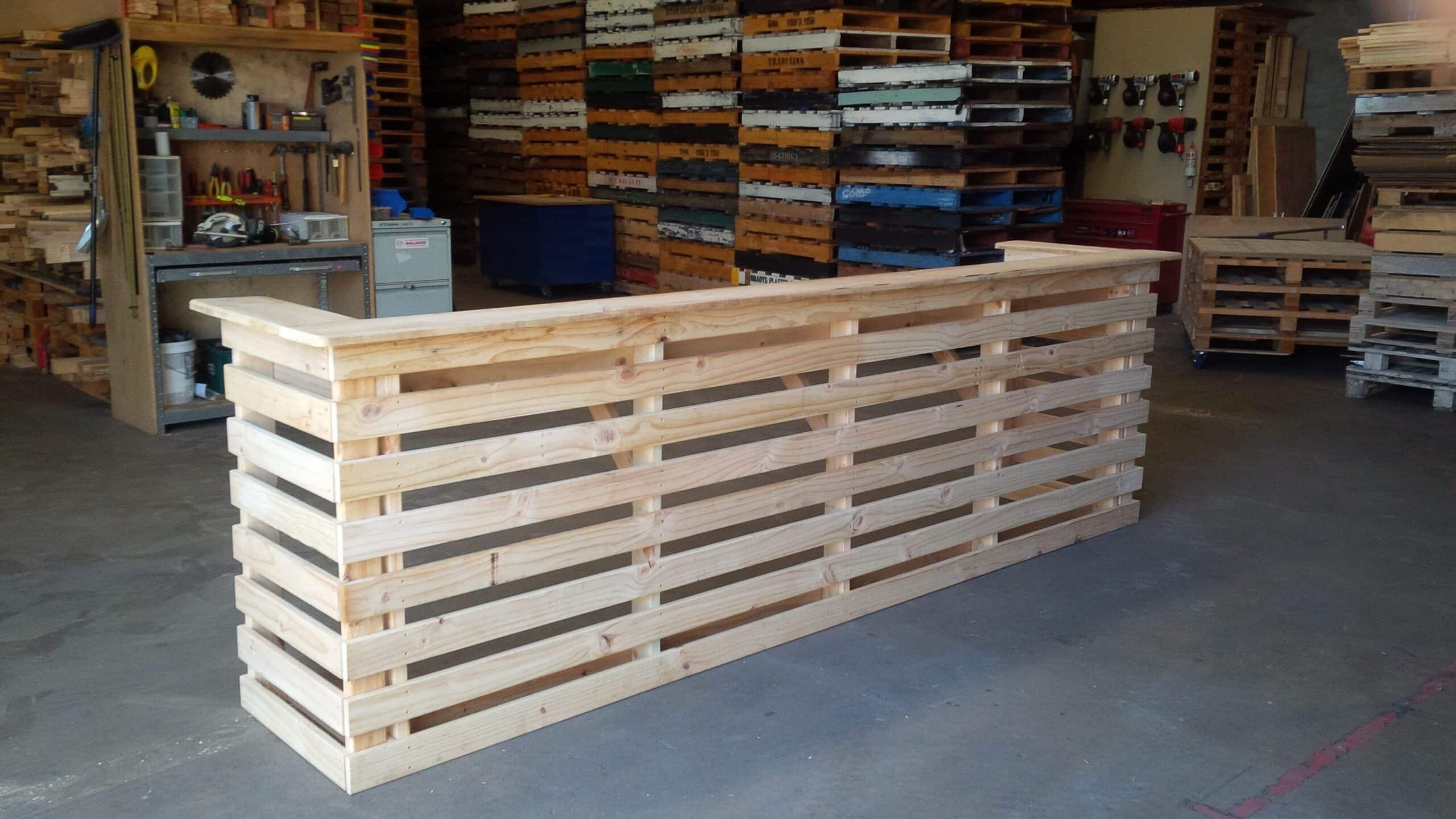 Pallet Bar Unit Pine 3000mm West
