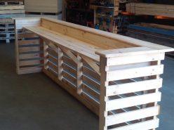 Pallet Bar Unit – Pine 1500mm
