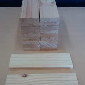 1165mm Length - 90 x 22mm Pine