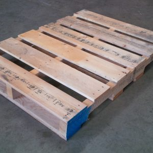 new plastic pallet full