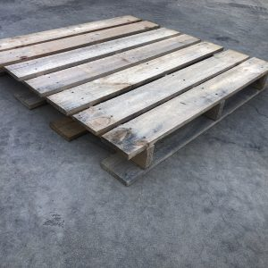 1165 x 1165mm 2 Tonne Pallet Collar Crate - 1 Collar