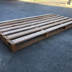 2400 x 1165 – NEW Hardwood DOUBLE PALLET